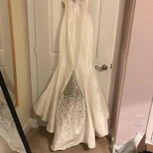 Jovani Dresses - White Jovani homecoming dress mermaid prom